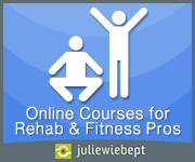 Online Courses for Rehab & Fitness Professionals with Julie Wiebe PT