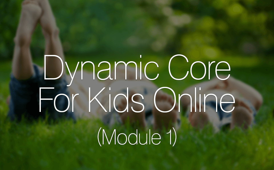 Dynamic Core For Kids Online (Module 1)